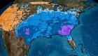EE.UU.: inusual frío en el sureste, a semanas del verano