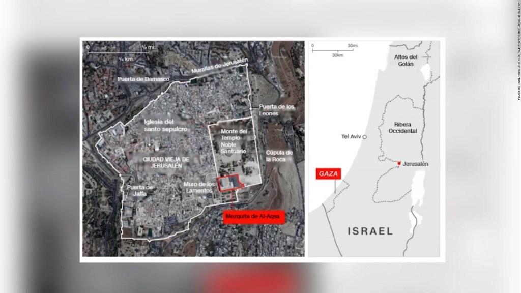Así es el mapa del conflicto palestino-israelí
