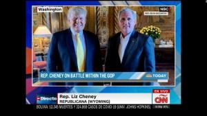 Liz Cheney critica la visita de Kevin McCarthy a Trump