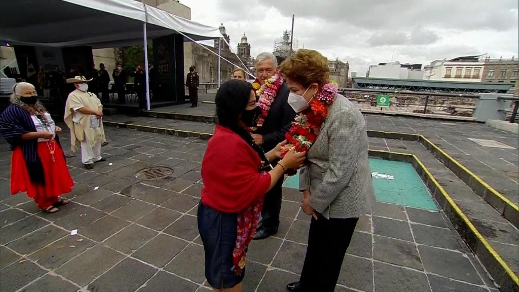 Conmemoran los 700 años de la fundación de Tenochtitlan