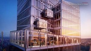 ¿Te subirías a este elevador de cristal de Nueva York?