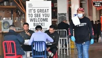 Así avanza la recuperación de los restaurantes de EE.UU.