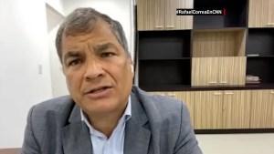 Correa sobre el desempeño de Arauz en los comicios
