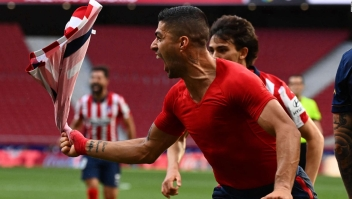 Suárez se vistió de héroe para el Atlético