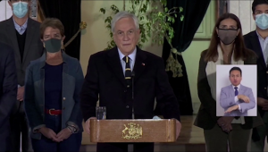 Piñera habla sobre los resultados electorales en Chile
