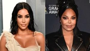 Kim Kardashian compra traje de Janet Jackson por US$ 25.000