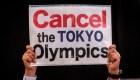 Protestas en Tokio contra los Juegos Olímpicos