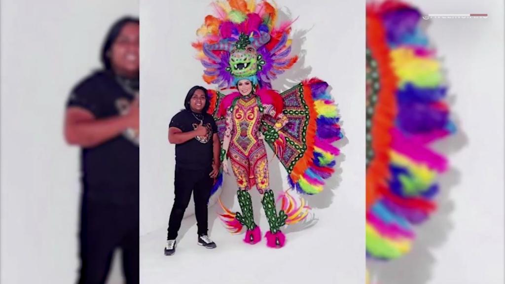 Miss Universo le dio vida a mi traje, dice diseñador mexicano