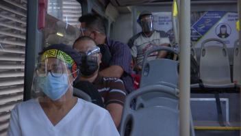 Uso obligatorio de caretas en transporte público de Panamá