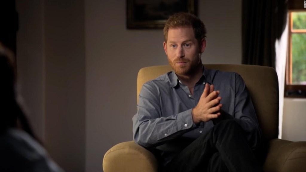 Nueva serie: príncipe Harry y Oprah abordan salud mental