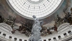 La antigua Bolsa de Comercio París se transforma un museo