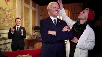 Joe Biden es inmortalizado en el museo de cera de París