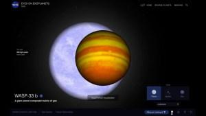Hallan molécula terrestre en exoplaneta similar a Júpiter
