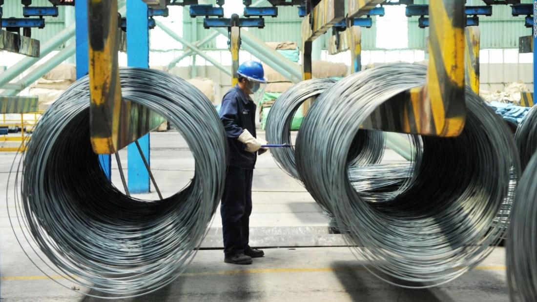 Altos precios de los metales amenazan recuperación china