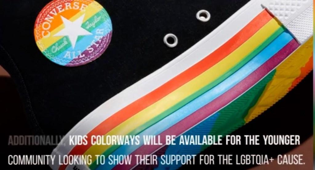 Converse se prepara para lanzar una línea LGBTQ