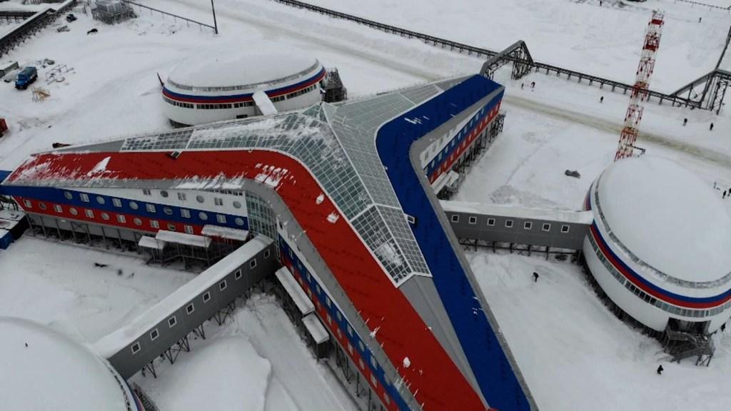 Conoce la gran base rusa en el Ártico