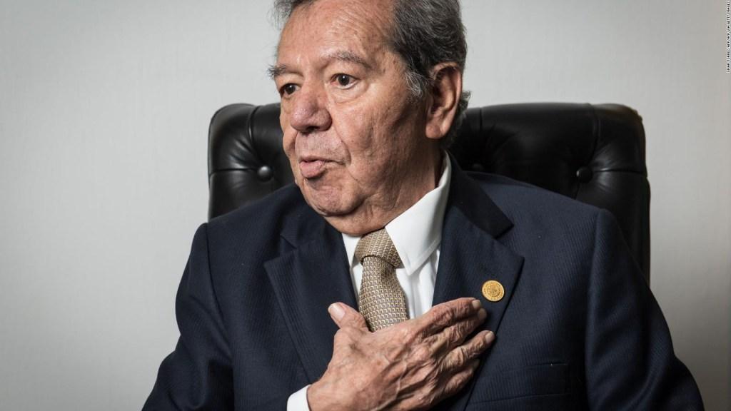 Porfirio Muñoz Ledo, the critical voice within Morena