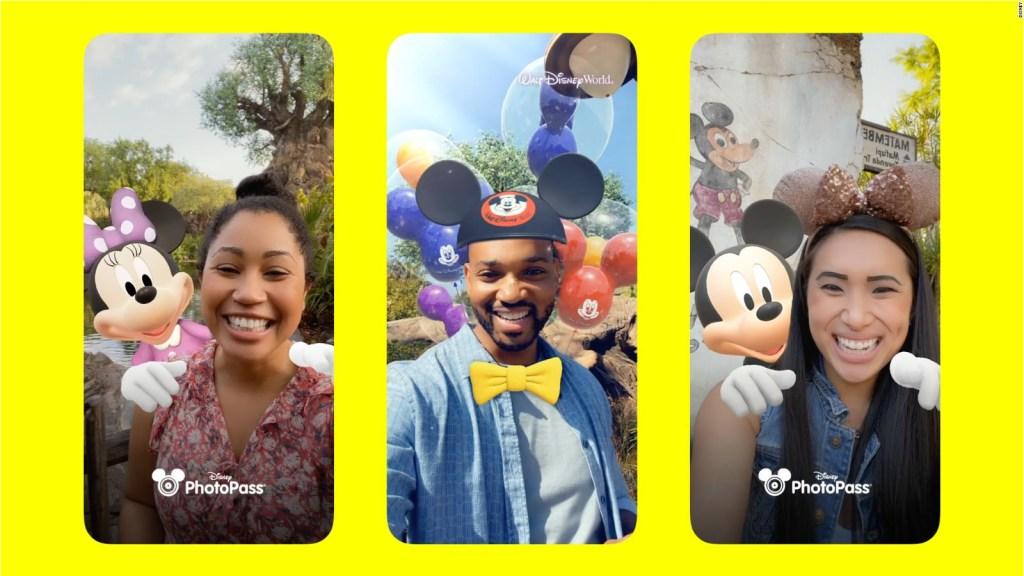 Nuevas aplicación de Disney y Snap