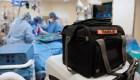 Logran trasplantar pulmón de donante que tuvo covid-19