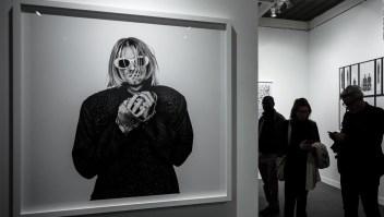 Subastan cabello de Kurt Cobain
