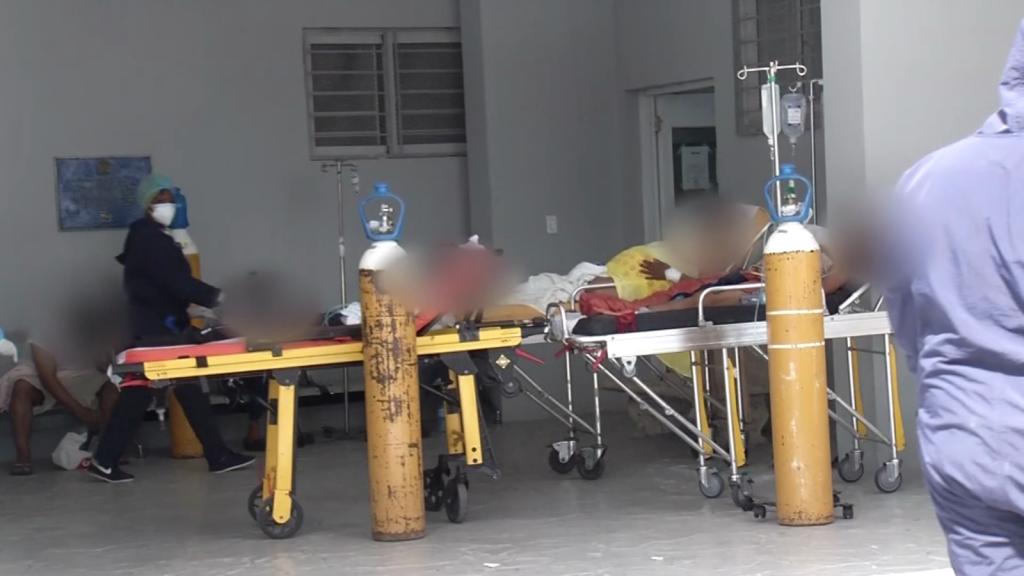 High occupancy of ICU beds in Santo Domingo
