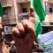 ¿Cómo celebraron los palestinos el alto el fuego?