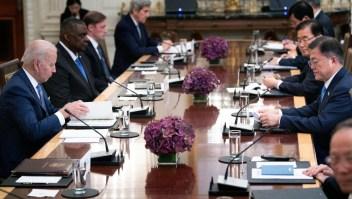 Biden consolida alianza con Corea del Sur