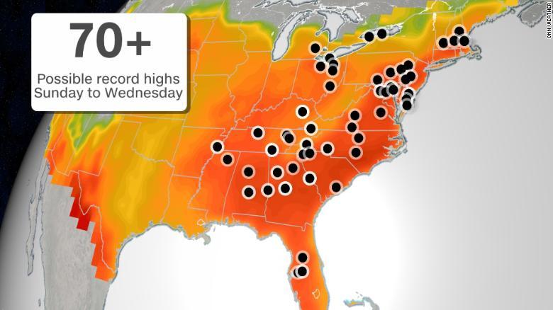 ola de calor EE.UU.