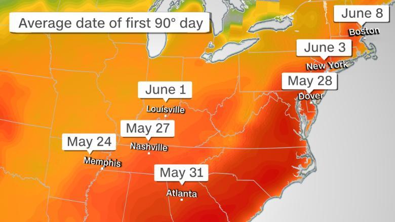 ola calor EE.UU
