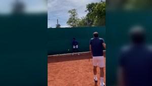 El inesperado error no intencional de Federer