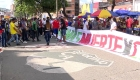 Colombia: barras rivales de fútbol se unen en protestas