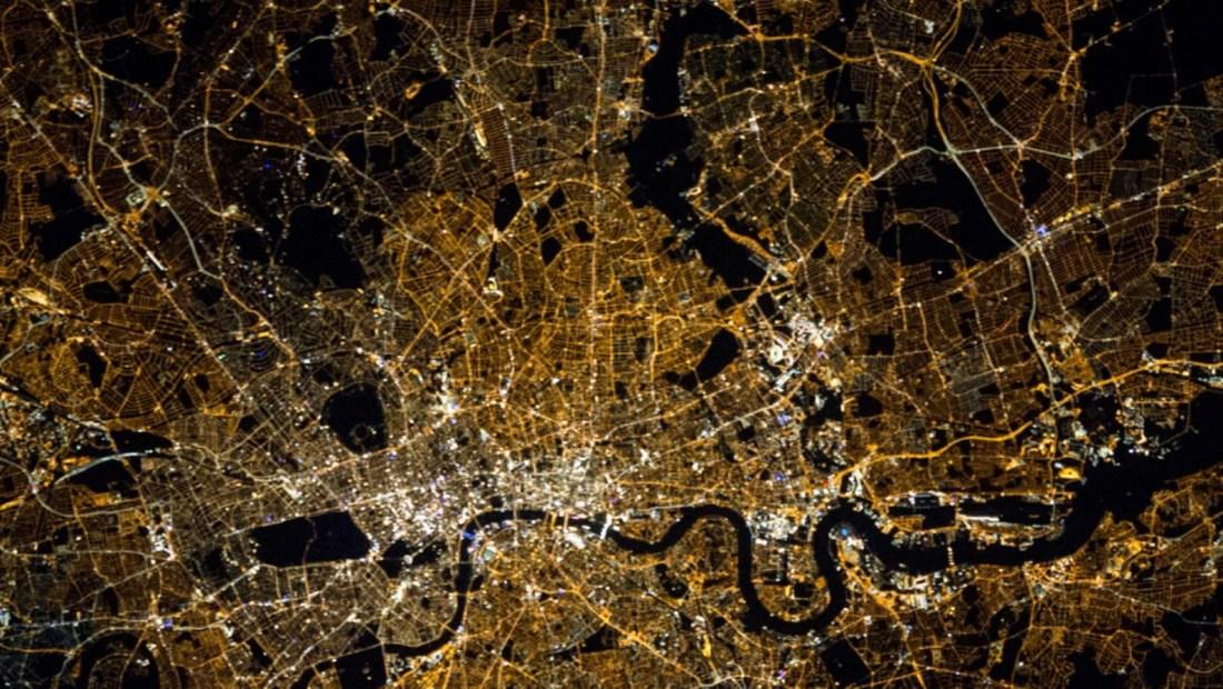 Principales ciudades del mundo vistas desde el espacio