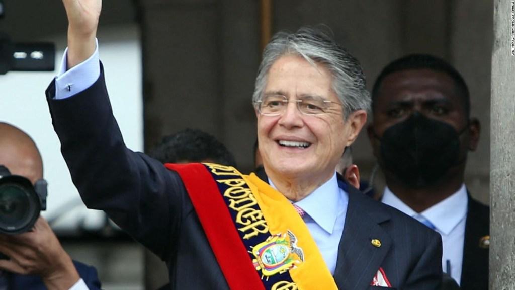"""Lasso habla de """"lucha"""" por el """"alma democrática"""" de Ecuador"""