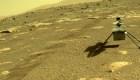 Ingenuity protagoniza la imagen de la semana en Marte