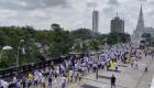 Así va la Marcha del Silencio en Cali, Colombia