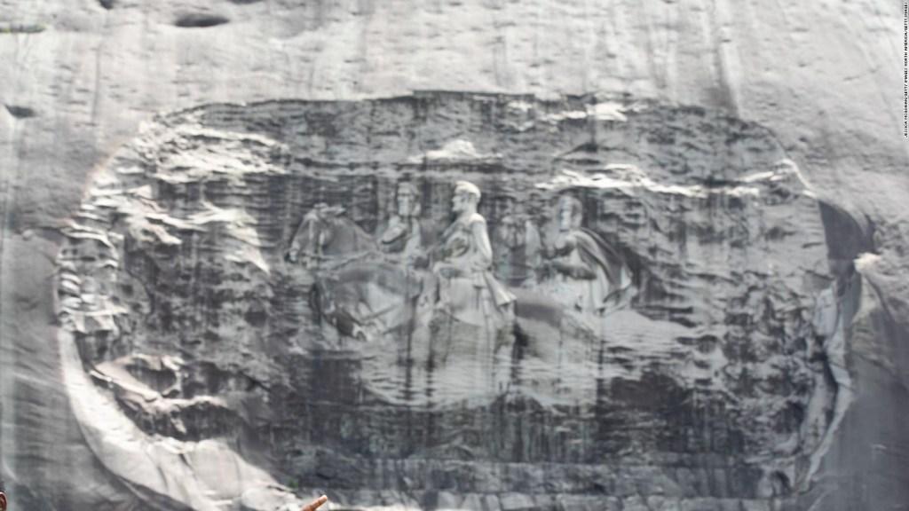 La verdad de Stone Mountain en una exhibición