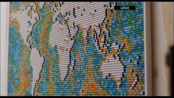 Lego presenta nuevo mapa mundial de más de 11.000 piezas