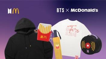 BTS mcdonalds merch