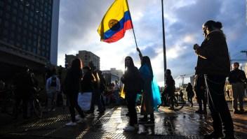 El operativo de seguridad ante las protestas en Colombia