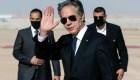 """Blinken pide paz y llama a Egipto aliado """"real"""""""