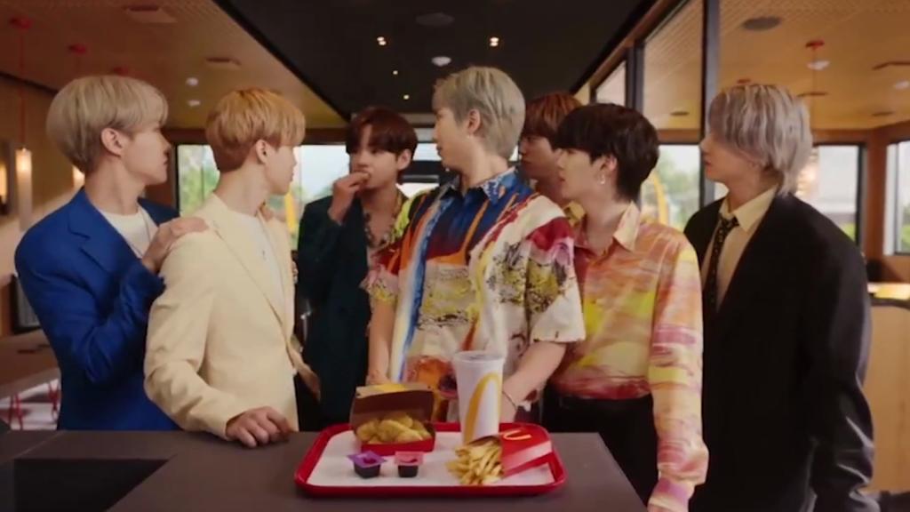 BTS et McDonald's lancent un nouveau combo exclusif