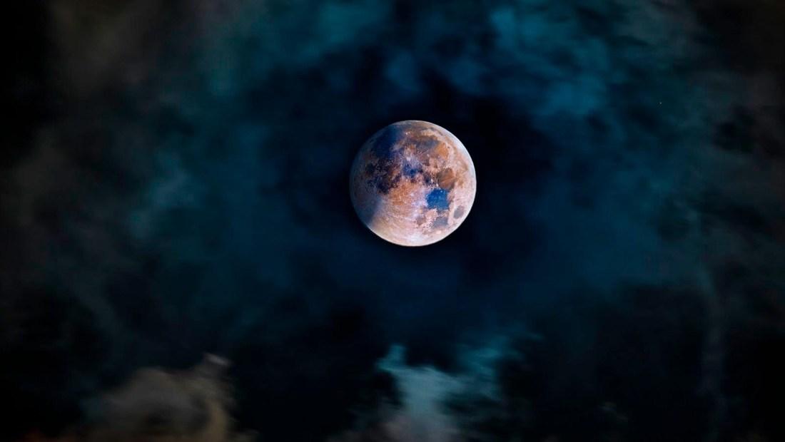 Así se vio la luna de sangre en Cancún