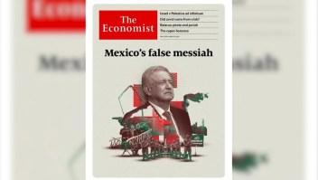"""AMLO: Portada de The Economist es """"majadera y muy grosera"""""""