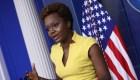 Vocera de la Casa Blanca Karine Jean-Pierre es tendencia en redes
