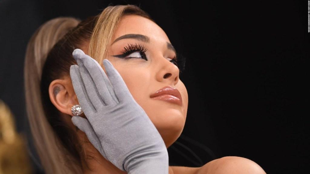 Ariana Grande partage des photos de son mariage