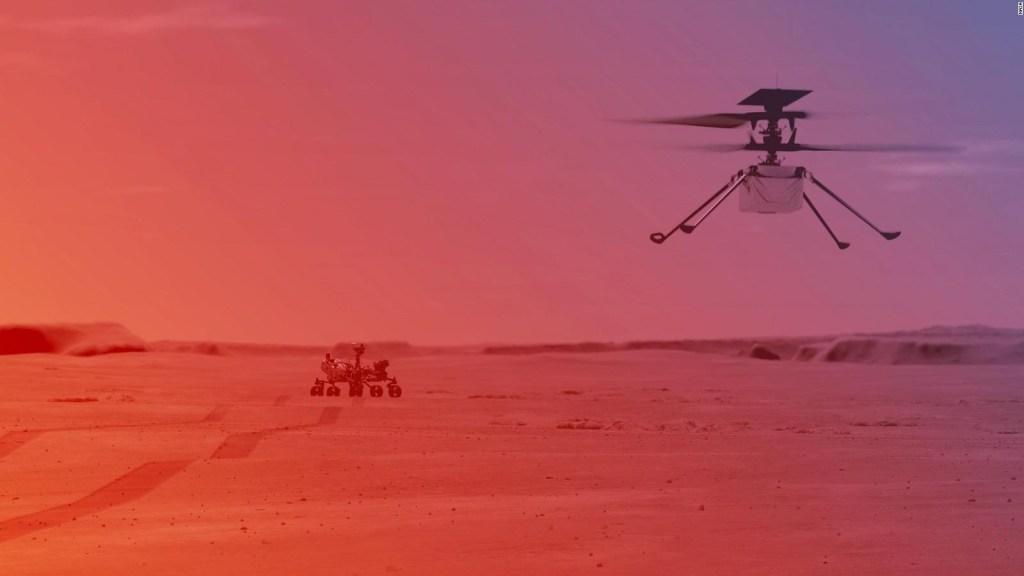 ¿Qué pasó en el sexto vuelo del Ingenuity en Marte?