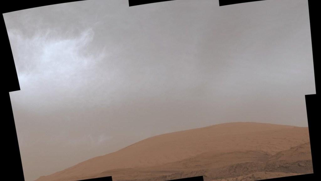 Mira las nuevas imágenes de las nubes de Marte