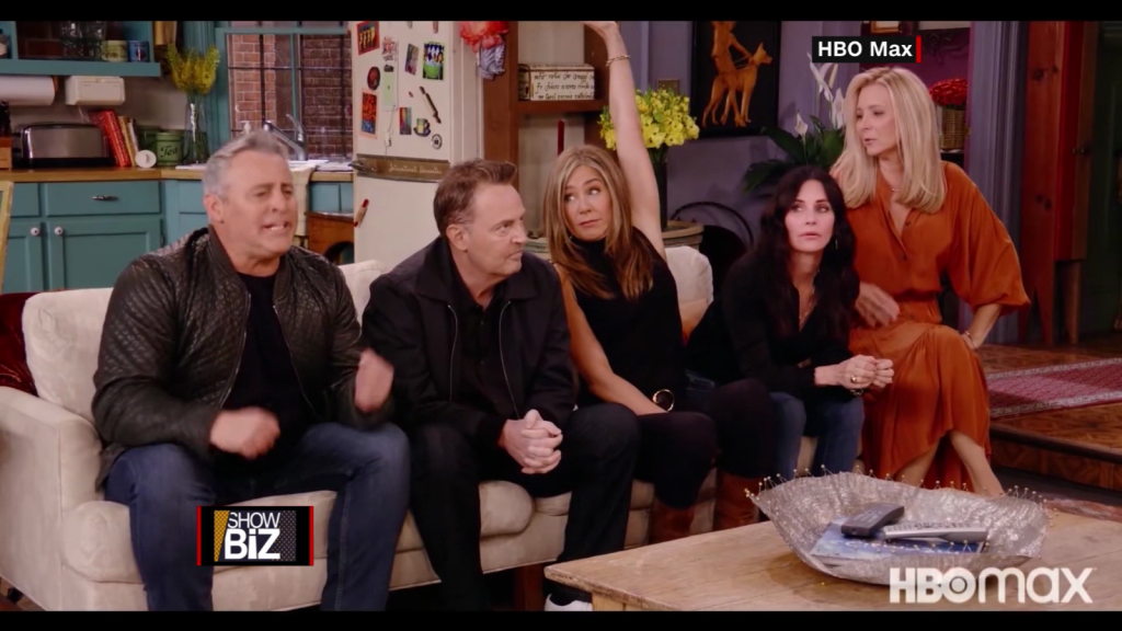 """Matthew Perry talks about his concern """"Friends"""""""