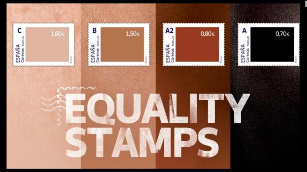 España frena campaña postal inspirada en color de piel