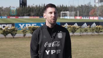 Lionel Messi habla de su gran deuda, la Copa América